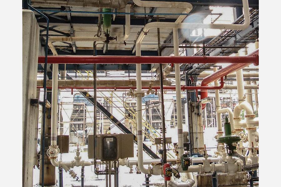 Methanolleitungen BioMCN
