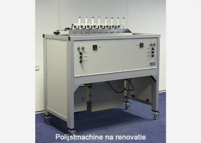 Überarbeitung Poliermaschine