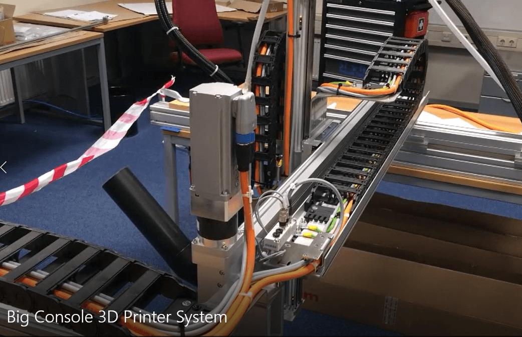 Additive Manufacturing für große Bauteile
